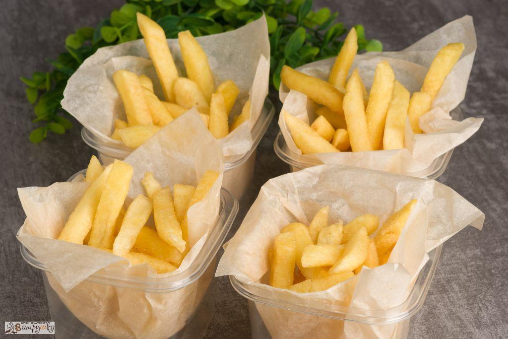 Картофель фри 4шт/400гр 0