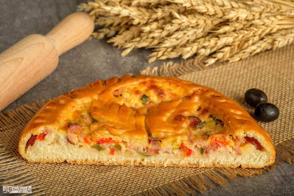 Пирог Домашняя пицца 0