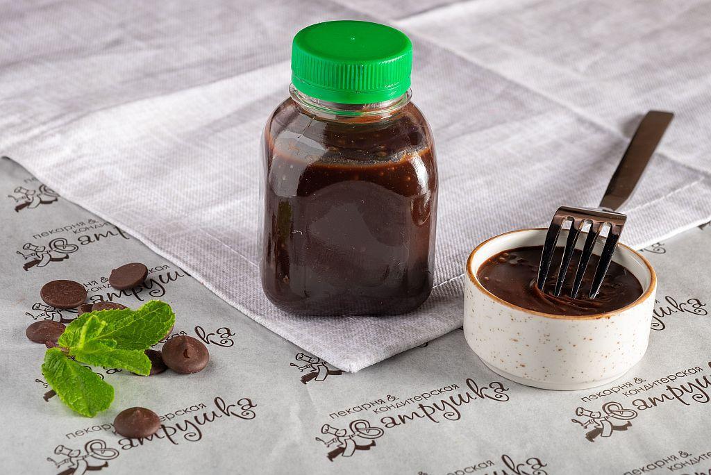 Соус  шоколадо-сливочный с коньяком и  кардамоном  0
