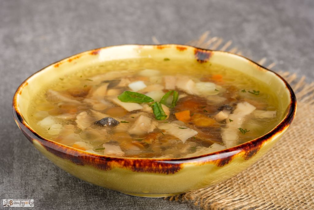 Суп грибной 300гр 0