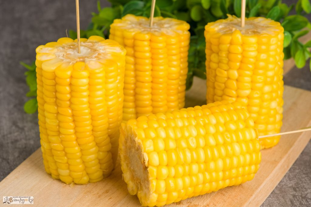 Молочная кукуруза на шпажках 4шт/580гр 0