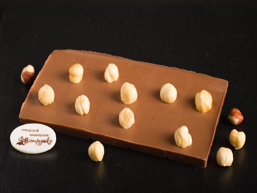 Шоколад молочный с фундуком 100гр 0