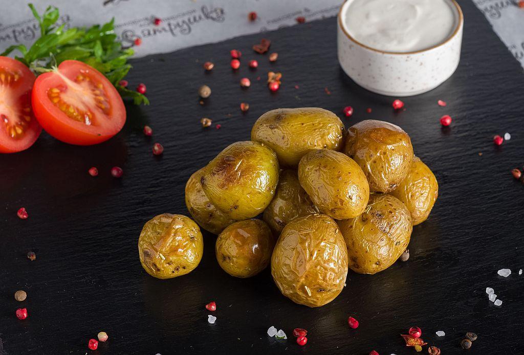 Картофель бэби на гриле 200гр 0