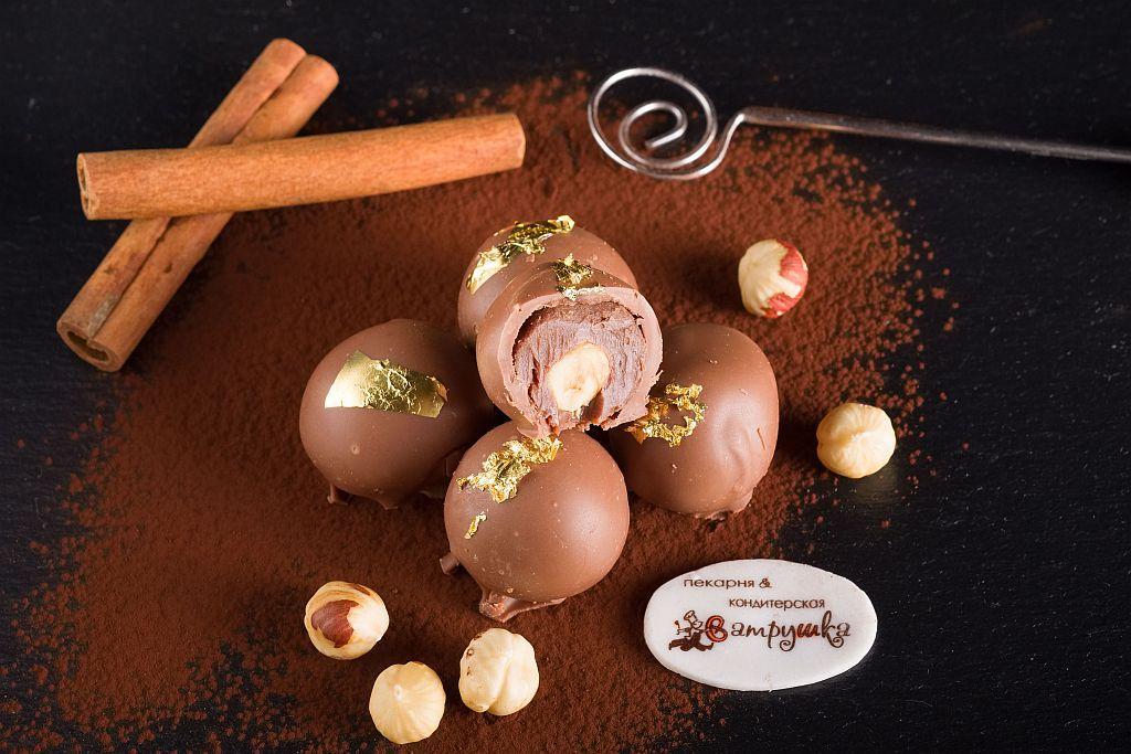 Трюфель Шоколад-фундук 5шт 0