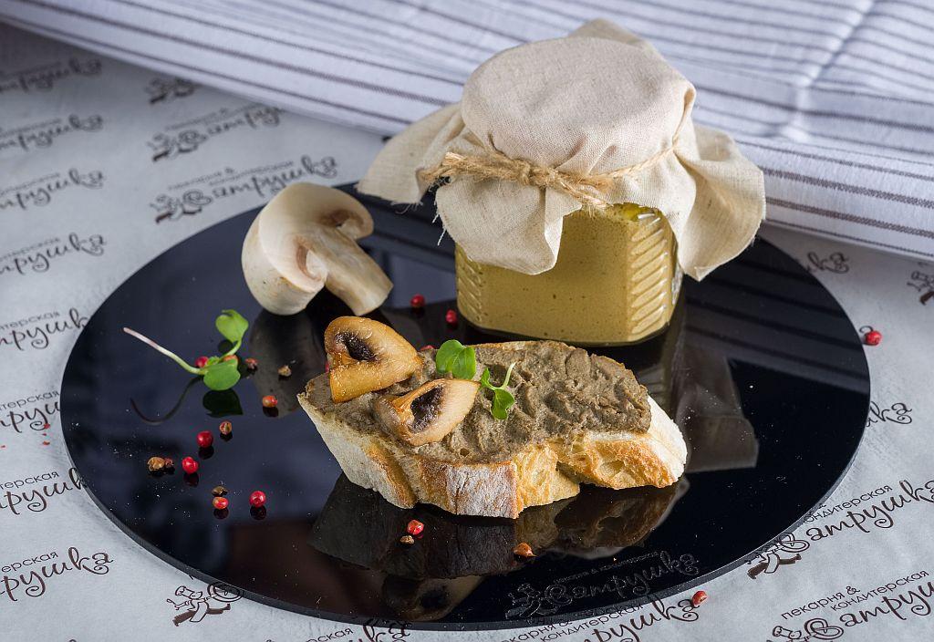 Паштет из куриной печени с грибами 250гр 0