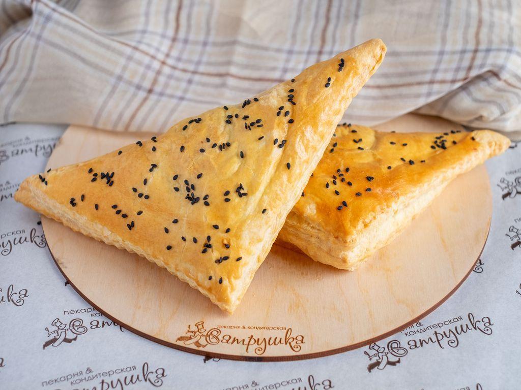 Уголок с сыром и шпинатом 110гр 0