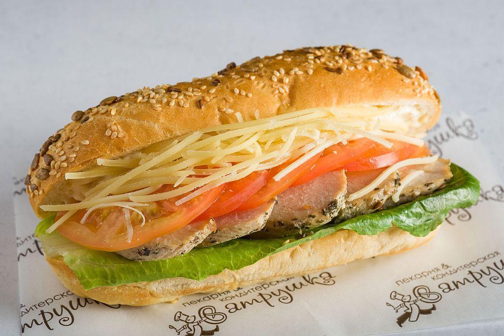 "Сэндвич ""Цезарь"" с куриным филе 260гр 0"