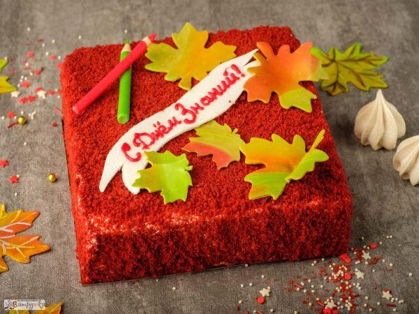 Торт «С днем знаний» 1 кг 0