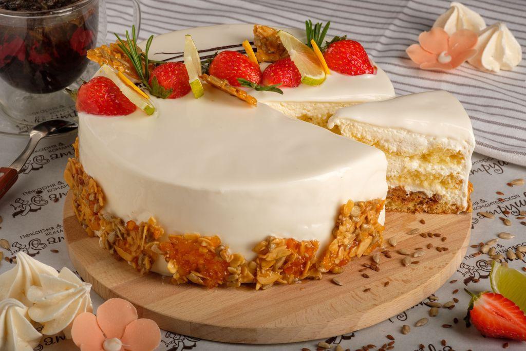 Пирожное Сметанное 125гр 0