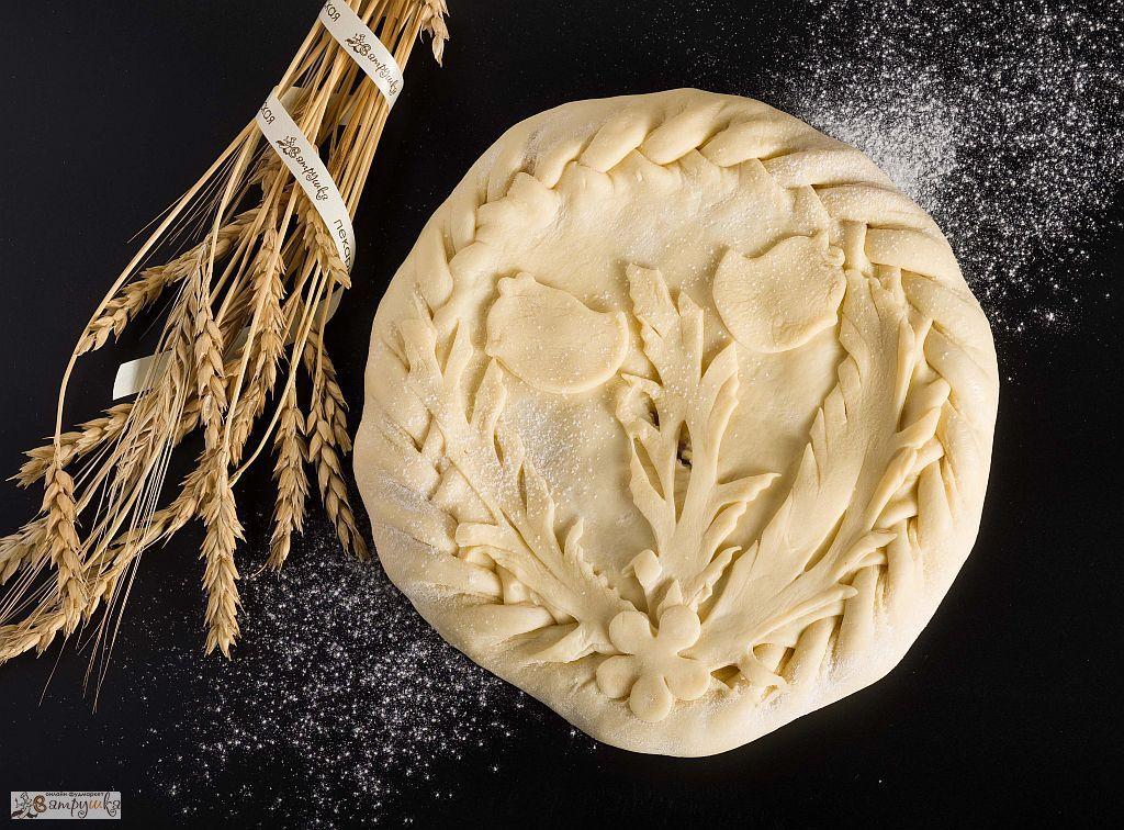 Пирог с курицей и сыром п/ф 840 гр. 0