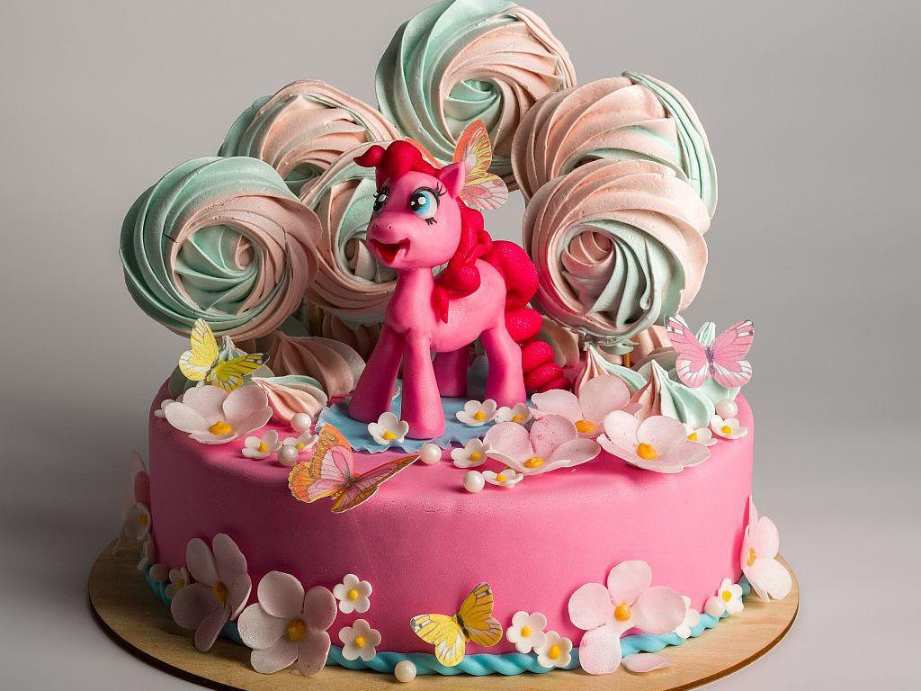 Торт на заказ для девочки  от 1200 руб/кг 0