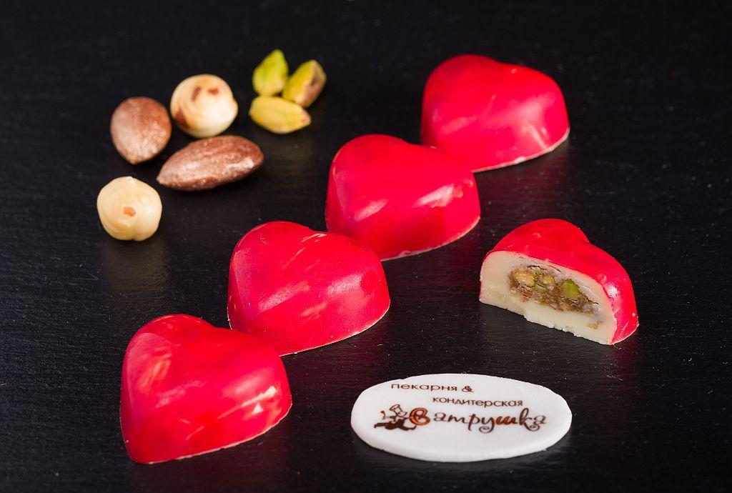 Конфеты Сердце шоколадное 5шт 0