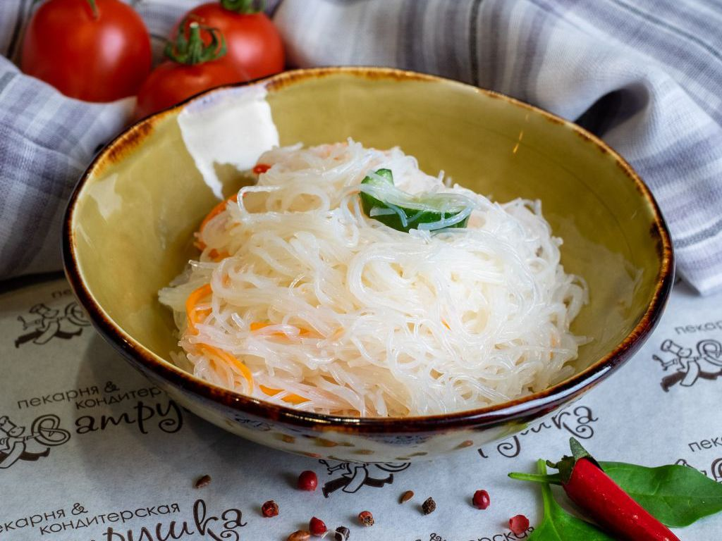 Салат из рисовой вермишели 200гр 0
