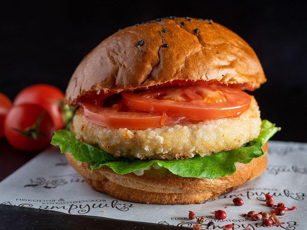 Бургер с куриной котлетой 270гр 0