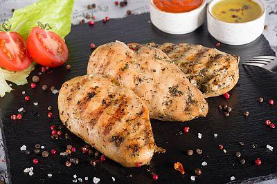 Филе куриное гриль 200гр (2 стейка)