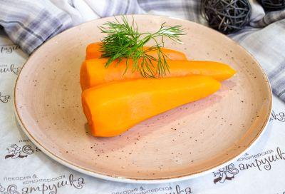 Морковь отварная 500гр