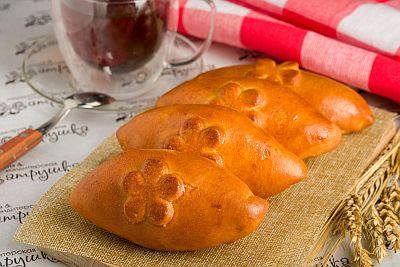 Мини-пирожки с яблоком печеным 200гр