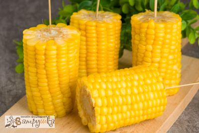Молочная кукуруза на шпажках 4шт/580гр