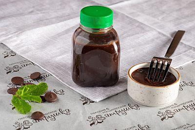 Соус  шоколадо-сливочный с коньяком и  кардамоном