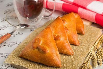 Мини-пирожки с картофелем и грибами 200гр